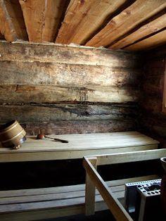 .Old sauna