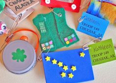 Girl Scout Swap Pins | swaps | Girl Scout Swap Ideals