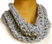 Free Crochet Pattern: Loose Cowl...I might even already have the skills to attempt this one! Can't wait!