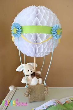 Hot Air Balloon/Sky Baby Shower Party Ideas   Photo 3 of 35   Catch My Party