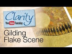 ▶ Stamping How To - Gilding Flake Scene - YouTube