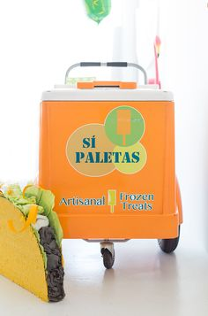 Taco Piñata Workshop Recap (+ A Giveaway! Taco Party, Fiesta Party, Churros, Nachos, Mexican Pinata, Mexican Horchata, Push Pop Confetti, Pineapple Mint, Ice Cream Cart