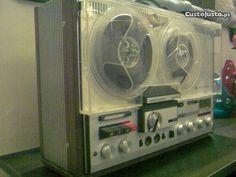 RARO Gravador vintage Telefunken Magnetophon 204TS