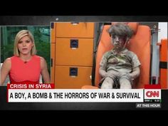 CNN's Kate Bolduan sheds overcome while reporting little boy who survived bomb in Syria - YouTube