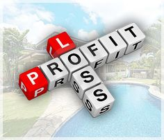A profit and loss statement is basically a list of rent income and expenses related to the property.