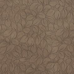 Nurture the mind and spirit - Brown Leaves Microfiber Upholstery Fabric By The Yard