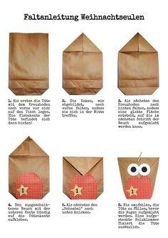 DIY Adventskalender Set zum selber befüllen - Eulen