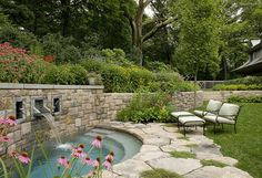 Small pool or really cool hot tub?