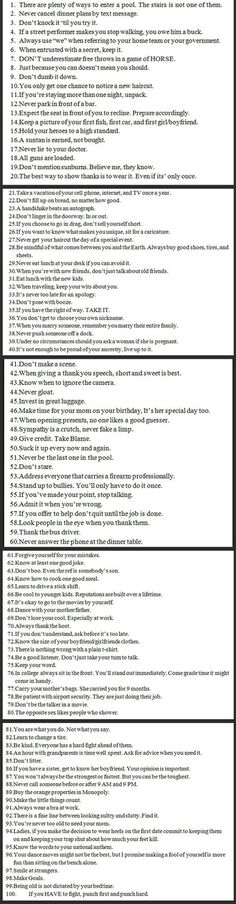 100 Wise Words from an Econ Teacher