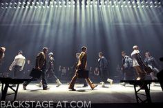 Lanvin F/W 2012 feat. Noma Han photo: Kevin Tachman / BackstageAt.com