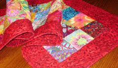 Quilted Table RunnerTable Runner Home by SharleesQuiltCottage