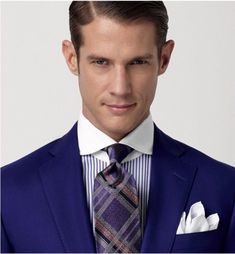 Inspired Looks For An Elegant Man Picture Description Phineas Cole Sharp Dressed Man, Well Dressed Men, Suit Fashion, Mens Fashion, Elegant Man, Contrast Collar, Dapper Men, Guy Pictures, Suit And Tie