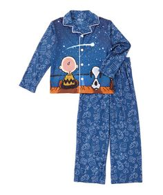 Another great find on #zulily! Peanuts Constellations Pajama Set - Toddler & Boys #zulilyfinds