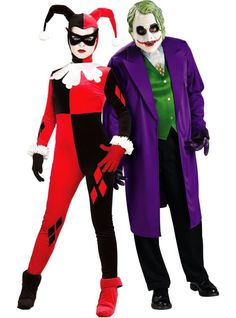 Harley Quinn and The Joker Couples Costumes - Party City  sc 1 st  Pinterest & Sassy Sally and Jack Skellington Nightmare Before Christmas Couples ...