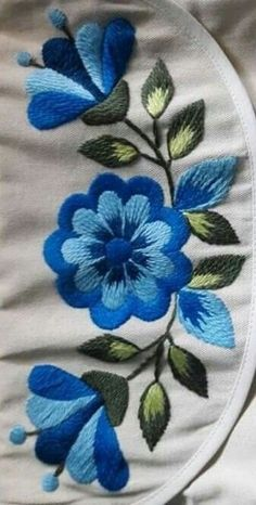 Hand Embroidery Design Patterns, Crewel Embroidery Kits, Hand Embroidery Videos, Embroidery Stitches Tutorial, Embroidery Flowers Pattern, Embroidery Techniques, Cross Stitch Embroidery, Machine Embroidery Designs, Embroidery Ideas