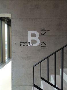 Medical Campus Building Signage Balgrist Campus Zürich