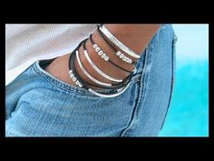 How to Make a Boho Leather Tube Bangle Wrap Bracelet - Step by Step DIY Tutorial - # 769 - YouTube