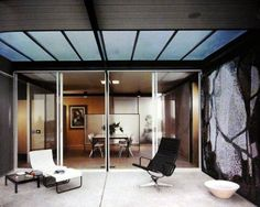 The Case Study House #18 designed by Craig Ellwood.