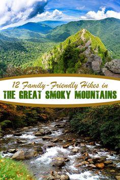 Great Smoky Mountains, Smoky Mountains Hiking, Smoky Mountains Tennessee, Mountain Hiking, Appalachian Mountains, Smoky Mountain Vacations, Lookout Mountain, Vacation Ideas, Vacation Spots