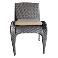 Outdoor 100 Essentials Rivage Wicker Patio Dining Chair - 8006246