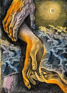 Link Painting by Leon Zernitsky