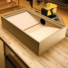 Downdraft Sanding Table for Woodworking There are loads of helpful hints pertaining to your woodworking plans located at http://www.woodesigner.net