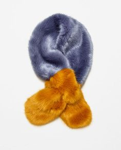 FAUX FUR STOLE - Available in more colours