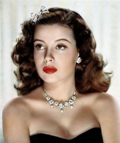 Gloria Mildred DeHaven (born July 23, 1925) is an American actress and a former contract star for MGM.  I think you can see from this image, she was just plain beautiful.