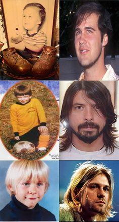 little nirvana :D Krist, Dave, Kurt