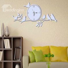 Beautiful Countryside Style Birds Wall Art Stickers #wall #art #stickers #home #decor