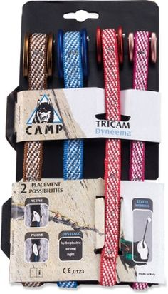 C.A.M.P. USA Dyneema Tricam EVO - Set of 4