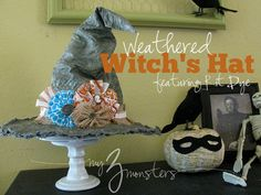 Weathered Witch's Hat{featuring Rit Dye}