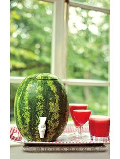 How To Make A Watermelon Keg - Summer Cocktail Recipes - Redbook