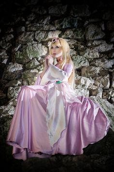 "Princess Aurora from old 80's anime ""Sci fi Saiyuki -Starzinger"" (princess version) Someone remembers her?"