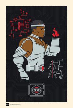 DC Superhero Profiles: Cyborg