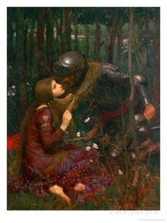 La Belle Dame Sans Merci, 1893 Giclee Print by John William Waterhouse at AllPosters.com