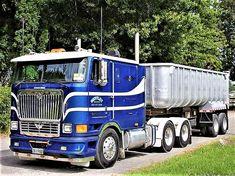 Millions of Semi Trucks Big Rig Trucks, Dump Trucks, Cool Trucks, Freightliner Trucks, Peterbilt, Semi Trailer Truck, Model Truck Kits, International Harvester Truck, Equipment Trailers