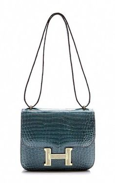 47 Best Hermes Blue Crocodile images  acb4c67d8b5e3