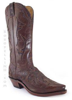 Boulet Dankan Brown 1643 Western Boot. Love love love