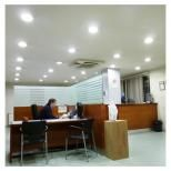Offices with LEDs lighting