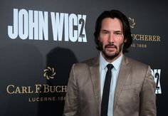 Keanu Reeves at John Wick 2 premiere