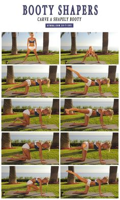 Carve out a shapely, lifted booty with these moves! This butt workout will round…