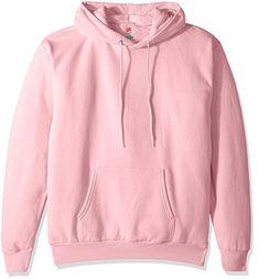 27bfaa265c8 Hanes Men s Pullover EcoSmart Fleece Hooded Sweatshirt