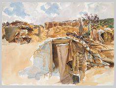 John Singer Sargent | Dugout | The Met