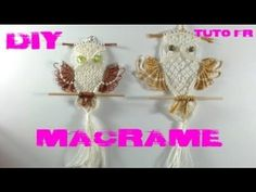 Macrame owl tutorial - The beautiful Hedwig of Harry Potter - Step by step giude - YouTube