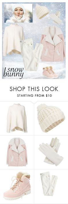 """""""Снежная пыль"""" by websandgold ❤ liked on Polyvore featuring URBAN ZEN, Accessorize, Isotoner, Australia Luxe Collective and J.Crew"""