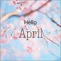 Spring ~ Hello April!