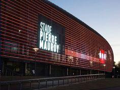 Architectural Wire Meshes - Transparent Media Façade IMAGIC WEAVE / HAVER & BOECKER