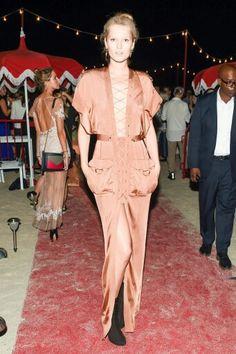 Model in Gucci