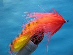 Steelhead Zonker Minnow. A winter steelhead fly for muddy waters